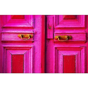 Gifts with Style Pink Door Photo Print