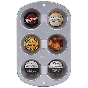 Recipe Right Standard Muffin Pan-6 Cavity 13.5