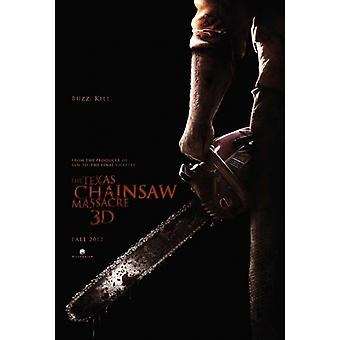 Leatherface 3D Movie Poster (11 x 17)