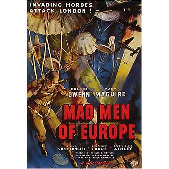 Mad Men of Europe Movie Poster (11 x 17)