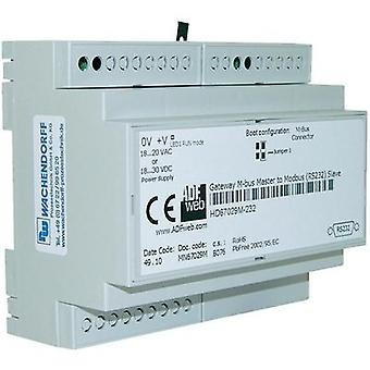 Gateway M-Bus, RS-232, RS-485 Wachendorff HD67029M485 24 Vdc