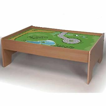 Bigjigs Wooden Railway Play Table