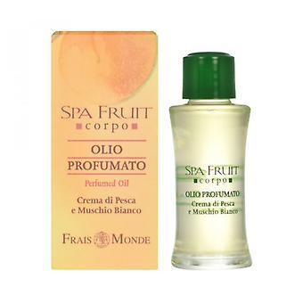 Frais Monde Spa frugt fersken og hvid moskus parfumeret olie fersken og hvid moskus