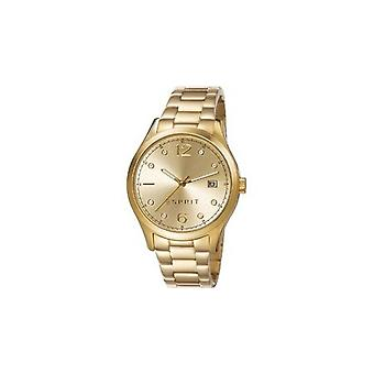 ESPRIT ladies watch bracelet watch Tracy stainless steel gold ES106692014