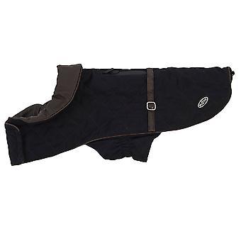 Buster City Dog Coat Black Medium
