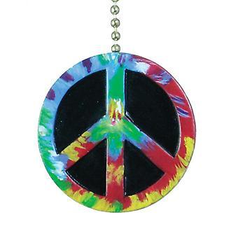 Signo de la paz símbolo techo ventilador tire Tie Dye diseño