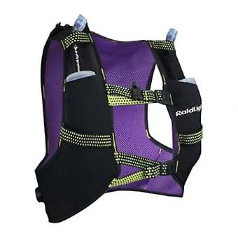 Running Vest With Bottles 3L Black/Purple
