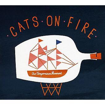 Katte på brand - vores afholdsbevægelsen [CD] USA import