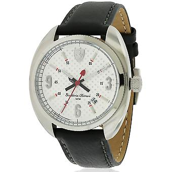 Ferrari Scuderia in pelle Mens Watch 0830240
