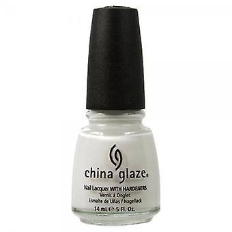 China Glaze Cina smalto smalto bianco su bianco 14ml