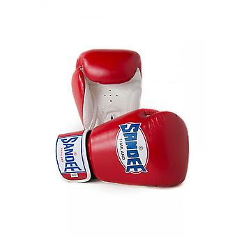 Sandee Red-White Boxing Gloves