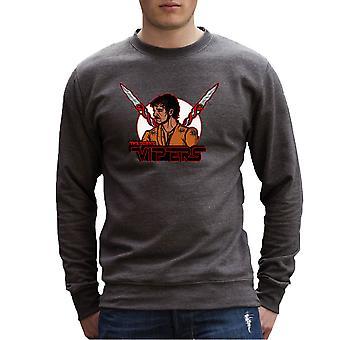 Dorne Vipers prins Oberyn Martell rød Viper spil af troner mænds Sweatshirt