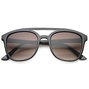 Squared audaz marco plástico aviador gafas de sol