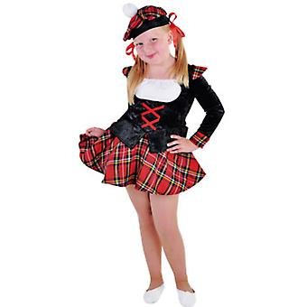 Children's costumes Girls Scottish girl child