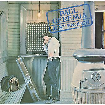 Paul Geremia - Just Enough [CD] USA import