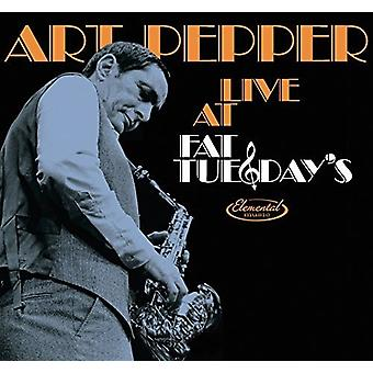 Kunst peber - Live på fedt tirsdag [CD] USA import