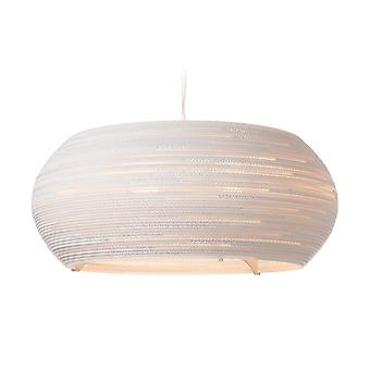 Graypants Ohio White Pendant Light 32 inch - E27