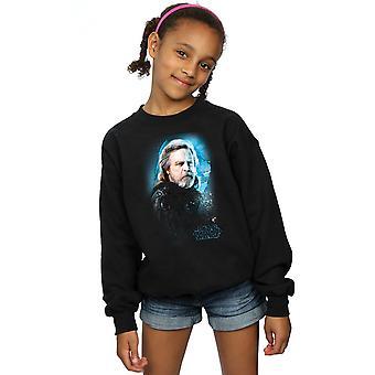Star Wars meisjes de laatste Jedi Luke Skywalker geborsteld Sweatshirt