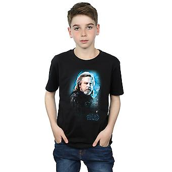 Star Wars Boys The Last Jedi Luke Skywalker Brushed T-Shirt