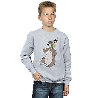Disney Boys The Jungle Book Classic Mowgli and Baloo Sweatshirt