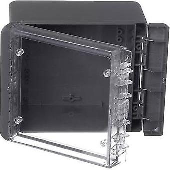 Wall-mount enclosure, Build-in casing 125 x 151 x 90 Polycarbonate (PC)
