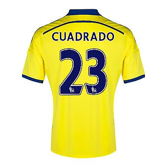 2014-15 Chelsea Away Shirt (Cuadrado 23) - Kids