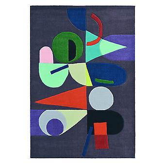 Xian Lola Art Deco gris alfombra - Brink & Campman