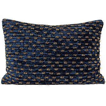 Riva Home Souk Beaded Rectangular Cushion Cover