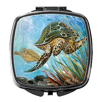 Carolines skatter JMK1261SCM Loggerhead Sea Turtle kompakt speil