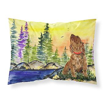American Water Spaniel Moisture wicking Fabric standard pillowcase