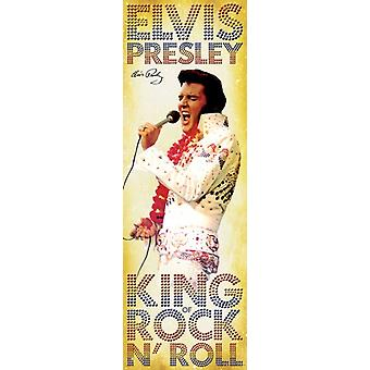 Elvis Presley - King Of Rock N Poster Poster Print