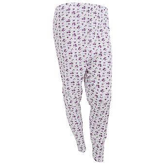 Womens/Ladies Thermal Floral Pattern Long Janes