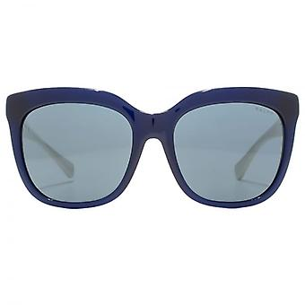 Ralph By Ralph Lauren Spotty Square Sunglasses In Navy White