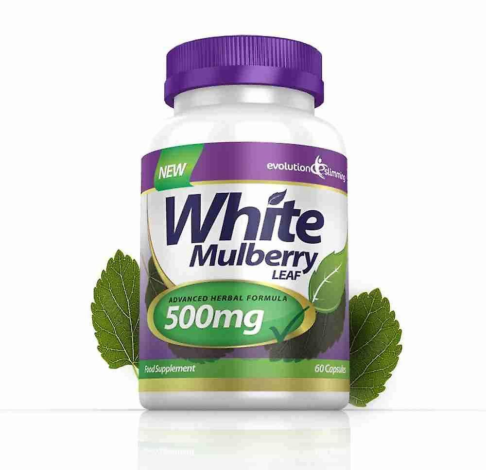 White Mulberry Leaf Extract 500mg - 60 Capsules - Sugar Controller - Evolution Slimming