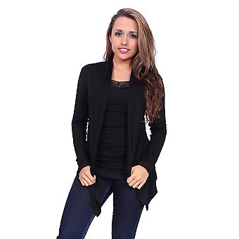 Magnifique Cardigan des femmes Loose tricoté coussinage pull Made in USA