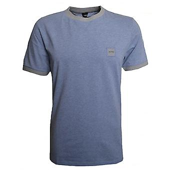 Hugo Boss Casual Hugo Boss Men's Blue Topical T-Shirt