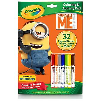 Crayola Minions Color And Activity Book