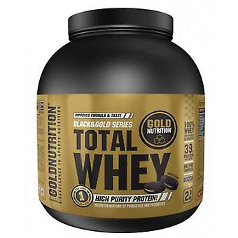 Gold Nutrition Total Whey Cookies & Cream 2 kg (Sport , Muscle mass , Proteins)