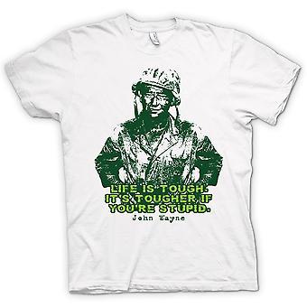 Womens T-shirt - John Wayne - Green Beret - WW2