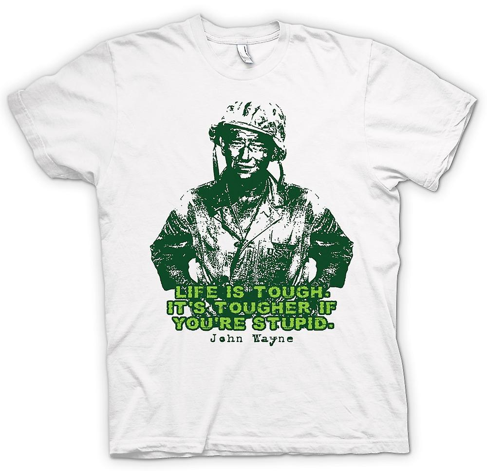 Womens T-shirt - John Wayne - Green Beret - WW2