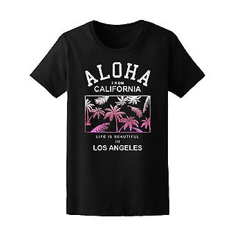 Aloha, California, Los Angeles Tee Women's -Image by Shutterstock