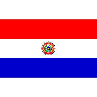 Paraguay Flag 5ft x 3ft (100% Polyester) With Eyelets
