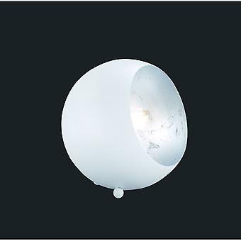 Oświetlenie nowoczesne Billy Trio biała lampa stołowa Metal matowy