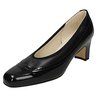 Ladies Nil Simile Narrow Fitting Court Shoes Briar