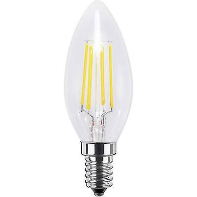 Segula LED E14 Candle 4 W = 33 W Warm white (Ø x L) 35 mm x 97 mm EEC: A+ Filament, dimmable 1 pc(s)