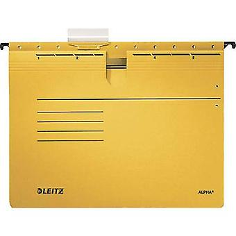 Leitz File display pocket Alpha A4 Yellow 5 pcs/pack. 19843015 1 pack
