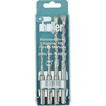Carbide metal Hammer drill bit set 4-piece 5 mm, 6 mm, 8 mm, 10 mm