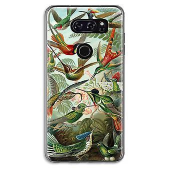 LG V30 Transparent Case (Soft) - Haeckel Trochilidae