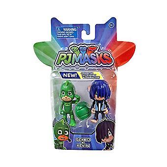 PJ maski 2 Pack bohater & Villan - Gekko & Kevin