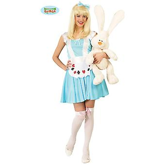 Alice in Wonderland ladies costume card game ladies costume